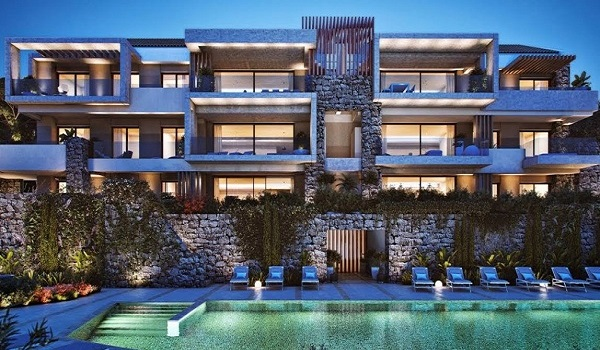 Apartments For Sale in Los Olivos, Real de la Quinta, Benahavis. | SpainForSale.Properties Luxury Real Estate For Sale & Rent.
