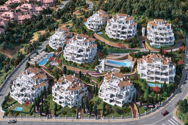 Homes For Sale in 9 Lions Residences, Nueva Andalucia, Marbella. | SpainForSale.Properties Luxury Real Estate For Sale & Rent.