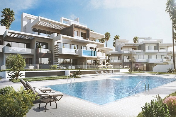 Apartments For Sale in La Meridiana Suites, Marbella Golden Mile. | SpainForSale.Properties Luxury Real Estate.