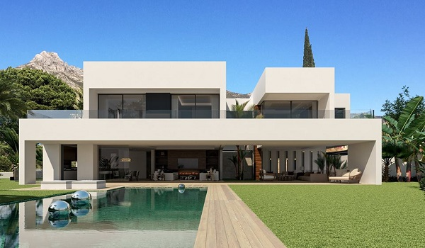 Villas For Sale in the Golden Mile, Marbella | SpainForSale.Properties